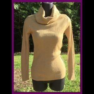 Vtg Cowl-neck Sweater, sz S